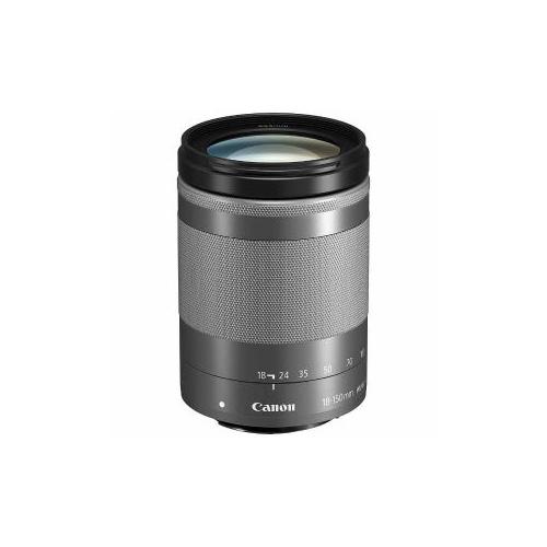 Canon EFM18-150ISSTMSL 交換用レンズ EF-M18-150mm F3.5-6.3 IS STM シルバー EF-M18-150F3.5-6.3I(代引不可)【送料無料】