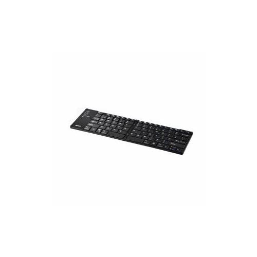 BUFFALO バッファロー BluetoothR3.0対応 折りたたみキーボード ブラック BSKBB700BK(代引不可)【送料無料】【int_d11】