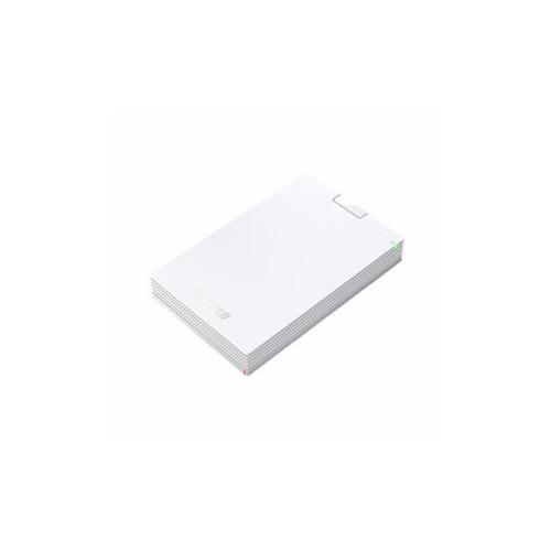 BUFFALO バッファロー ミニステーション USB3.1(Gen1) USB3.0 ポータブルHDD 2TB ホワイト HD-PCG2.0U3-GWA(代引不可)【送料無料】【int_d11】
