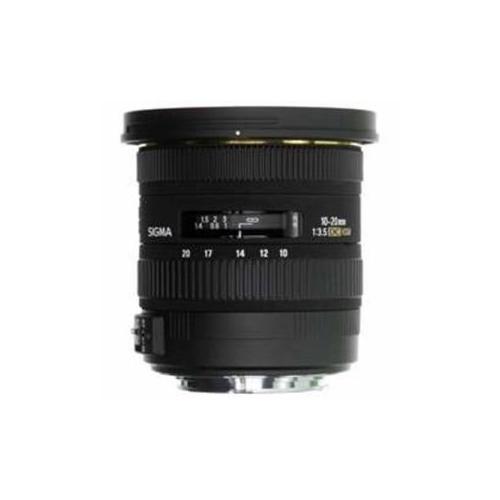 SIGmA 交換レンズ 10-20mm F3.5 EX DC HSm (APS-C用キヤノンEFマウント) AF10-20/3.5DC-HSm-CA(代引不可)【送料無料】