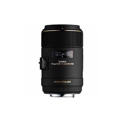SIGmA 交換レンズ 105mm F2.8 EX DG OS HSm mACRO (キヤノンEFマウント) AF105/2.8mEDOH-CA(代引不可)【送料無料】