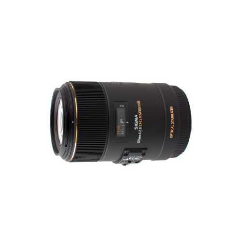 SIGmA 交換用レンズ mACRO 105mm F2.8 EX DG OS HSm(ニコン用) AF105/2.8mEDOH-NI(代引不可)【送料無料】