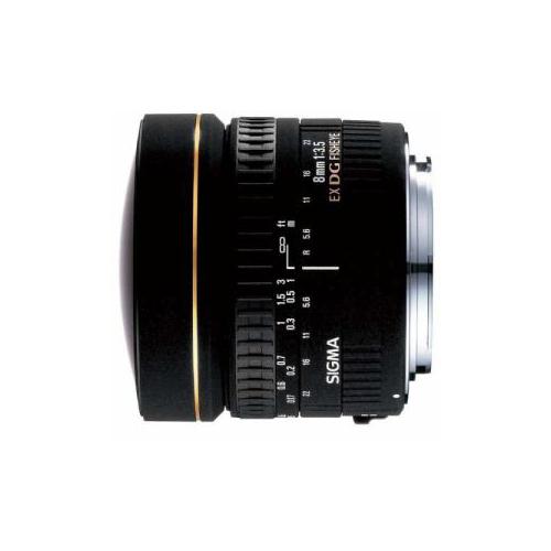 SIGmA 交換レンズ 8mm F3.5 EX DG CIRCULAR FISHEYE (キヤノンEFマウント) AF8/35EXDG-CA(代引不可)【送料無料】