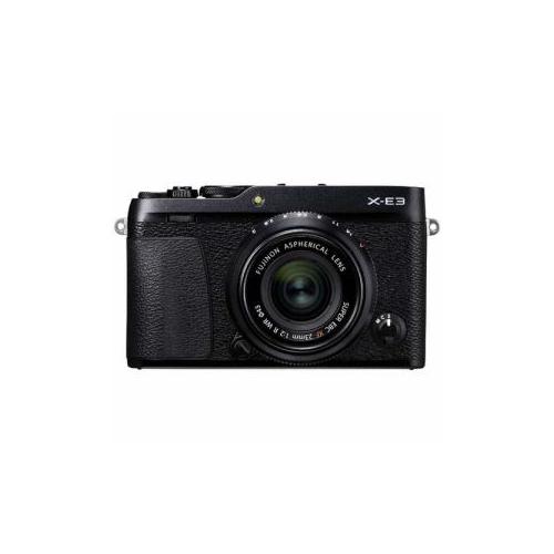 富士フイルム ミラーレス一眼カメラ 「FUJIFILm X-E3」 XF23mmF2レンズキット ブラック F-X-E3LK23F2-B(代引不可)【送料無料】