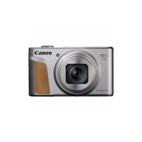 CANON コンパクトデジタルカメラ PowerShot(パワーショット) SX740 HS(シルバー) PSSX740HSSL(代引不可)【送料無料】