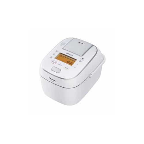 Panasonic 可変圧力IH炊飯ジャー 「Wおどり炊き」(5.5合) ホワイト SR-PW108-W(代引不可)【送料無料】