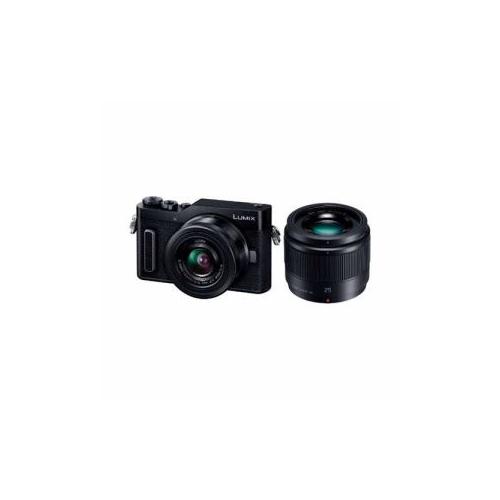 Panasonic デジタル一眼カメラ 「LUmIX DC-GF10」 ダブルレンズキット ブラック DC-GF10W-K(代引不可)【送料無料】