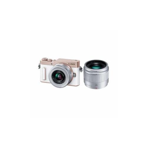 Panasonic デジタル一眼カメラ 「LUmIX DC-GF10」 ダブルレンズキット ホワイト DC-GF10W-W(代引不可)【送料無料】