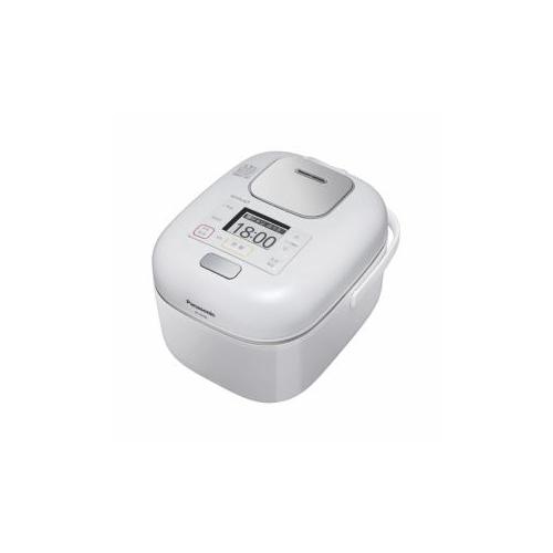 Panasonic 可変圧力IHジャー炊飯器 (3合炊き) 豊穣ホワイト SR-JW058-W(代引不可)【送料無料】