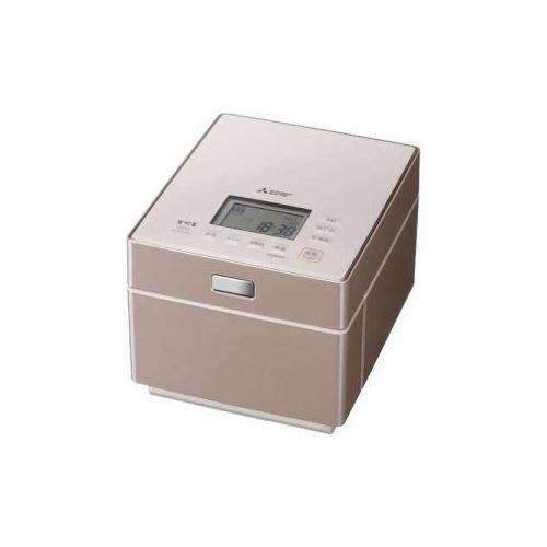 三菱 ジャー炊飯器 (5.5合炊き) テンダーロゼ NJ-XS108J-P(代引不可)【送料無料】