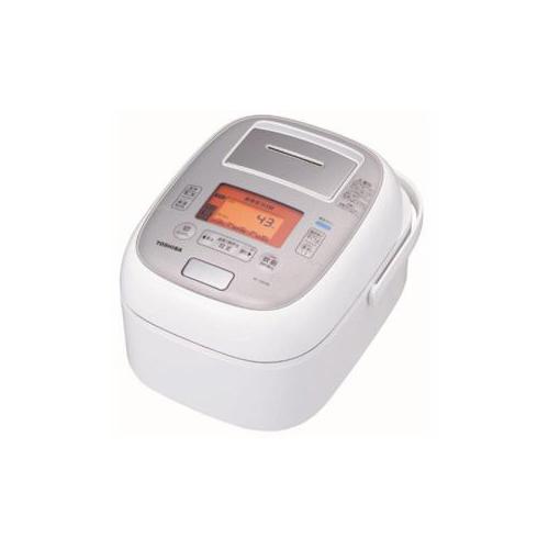 TOSHIBA 真空圧力IH炊飯器 「鍛造かまど本丸鉄釜」 5.5合炊き グランホワイト RC-10VXm-W(代引不可)【送料無料】