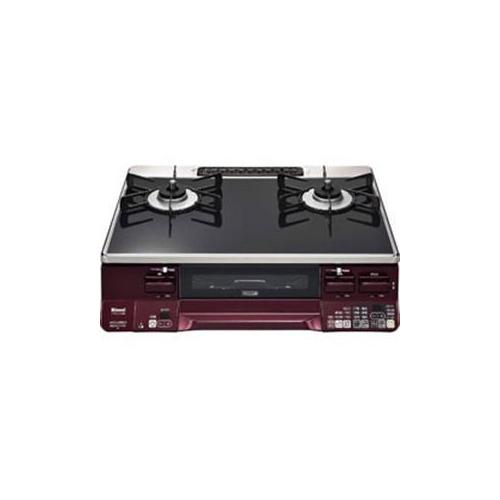 リンナイ プロパンガス用 ガステーブル (右強) RTE65VARBR-LP(代引不可)【送料無料】