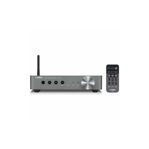 YAmAHA 【ハイレゾ音源対応】 ワイヤレスストリーミングアンプ ダークシルバー WXA50SD(代引不可)【送料無料】