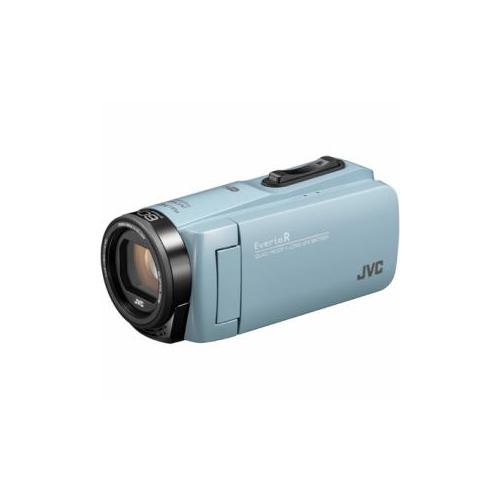 JVCケンウッド ハイビジョンメモリービデオカメラ 「Everio(エブリオ) Rシリーズ」 64GB サックスブルー GZ-RX680-A(代引不可)【送料無料】