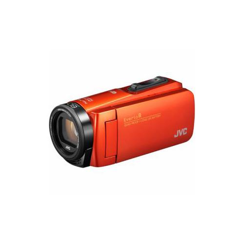 JVCケンウッド ハイビジョンメモリービデオカメラ 「Everio(エブリオ) Rシリーズ」 64GB ブラッドオレンジ GZ-RX680-D(代引不可)【送料無料】
