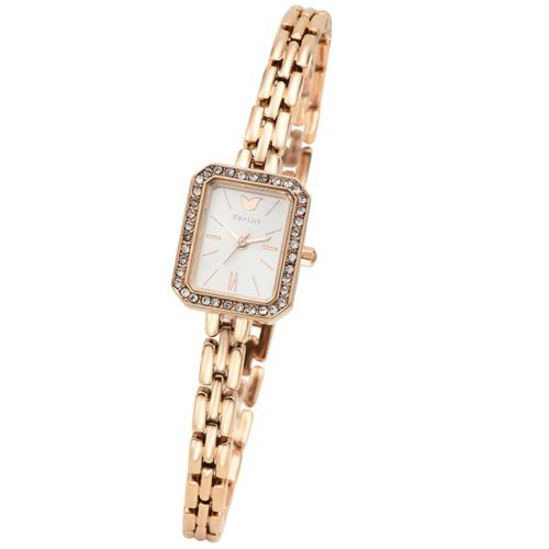 TirrLirr 腕時計 ジュエリー ウォッチ ブランド レディース twc-102PG(代引不可)【送料無料】
