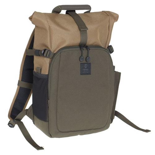 TENBA Fulton 10L Backpack - Tan/Olive V637-722 カメラ カメラアクセサリー その他カメラ関連製品 TENBA V637-722(代引不可)【送料無料】