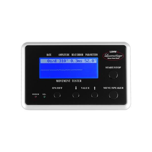 ローテンシュラガー 自動巻き時計測定器 タイムグラファー LU11000BK(代引不可)【送料無料】
