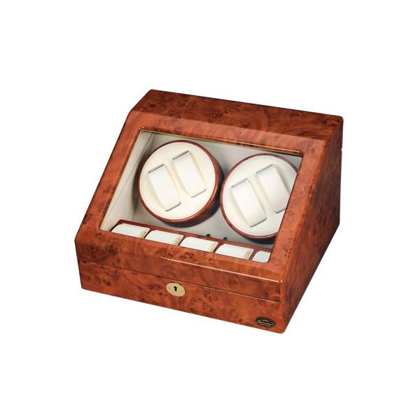 ローテンシュラガー 木製4連ワインディングマシーン LU30004RD(代引不可)【送料無料】