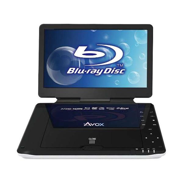 AVOX 10インチポータブルBDプレーヤー APBD-1030HW(代引不可)【送料無料】