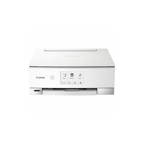 CANON インクジェットプリンター PIXUS(ピクサス) TSシリーズ 4.3型液晶 ホワイト PIXUSTS8230WH オフィス用品 その他 CANON(代引不可)【送料無料】