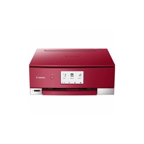 CANON インクジェットプリンター PIXUS(ピクサス) TSシリーズ 4.3型液晶 レッド PIXUSTS8230RD オフィス用品 その他 CANON(代引不可)【送料無料】