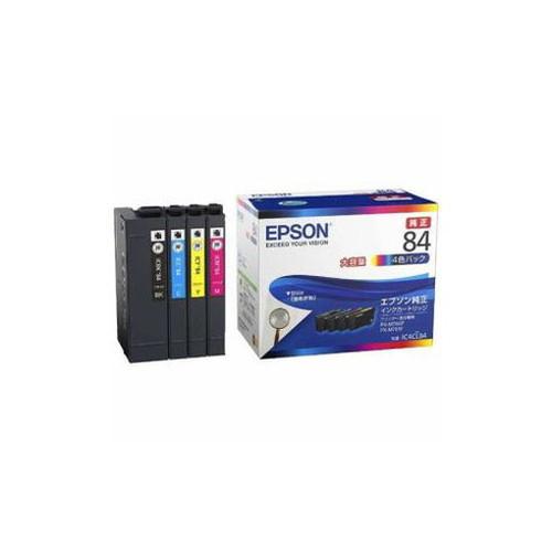 EPSON 純正 インクパック 4色パック 大容量タイプ IC4CL84 パソコン パソコン周辺機器 インク EPSON(代引不可)【送料無料】