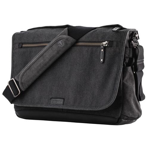 TENBA Cooper 15 Slim Camera Bag Grey Canvas V637-406 カメラ カメラアクセサリー その他カメラ関連製品 TENBA(代引不可)【送料無料】
