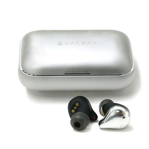 HACRAY W1 True wireless earphones Sliver HR16369(代引不可)【送料無料】