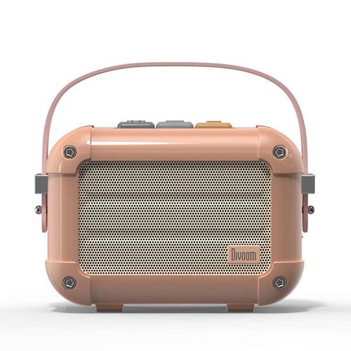 Divoom ディブーム 手のひらサイズの本格派Bluetoothスピーカー Macchiato-PINK MACCHIATO_PINK(代引不可)