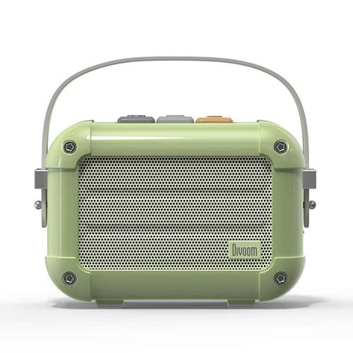 Divoom ディブーム 手のひらサイズの本格派Bluetoothスピーカー Macchiato-Green MACCHIATO_GREEN(代引不可)