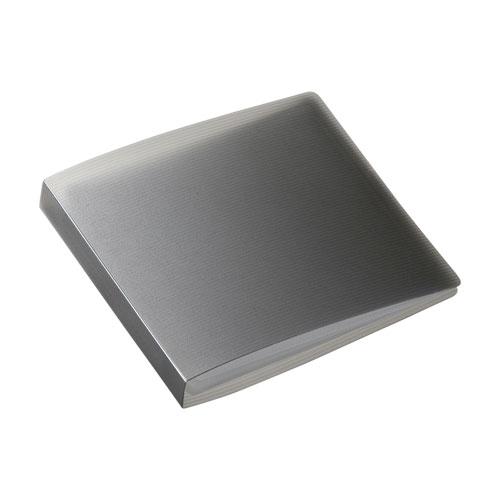 サンワサプライ DVD・CDファイルケース(12枚収納・ブラック) FCD-FL12BK(代引不可)【ポイント10倍】