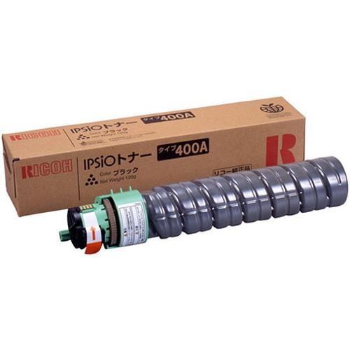RICOH リコー IPSiO イプシオトナー ブラック タイプ400A 636596 コピー機 印刷 替え カートリッジ ストック トナー(代引不可)
