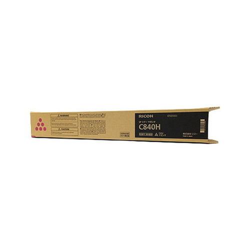RICOH リコー IPSiO イプシオ SP トナー マゼンタ C840H 600635 コピー機 印刷 替え カートリッジ ストック トナー(代引不可)