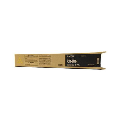 RICOH リコー IPSiO イプシオ SP トナー イエロー C840H 600636 コピー機 印刷 替え カートリッジ ストック トナー(代引不可)