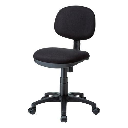 サンワサプライ エコロジーチェア SNC-E10BK 椅子 イス シンプル デスク(代引不可)