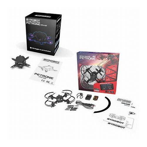 JBS 世界初 変幻自在に変身できるドローン ByRobot PETRONE + カメラキットセット PR001+PR003(代引不可)