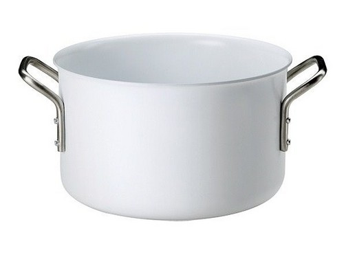 《16cm》【eva-trio】ホワイトライン 両手鍋