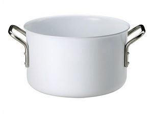 《24cm》【eva-trio】ホワイトライン 両手鍋