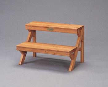 アイリスオーヤマ 木製フラワースタンド フラワースタンド ブラウン GD-900(代引き不可)【送料無料】