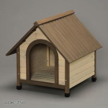 アイリスオーヤマ ウッディ犬舎 WDK-600、750、900 犬舎 ブラウンWDK-750(代引き不可)