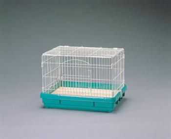 アイリスオーヤマ ラビットケージ UK-650 小動物用品 パステルグリーンUK-650(代引き不可)【送料無料】【int_d11】