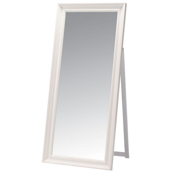 スタンドミラー [TSM-911WH] 鏡 姿見 家具 インテリア(代引不可)【送料無料】