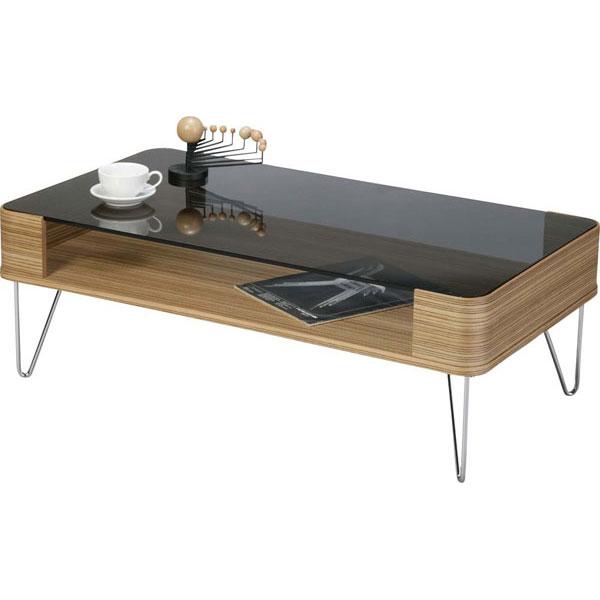 コーヒーテーブル PT-582ZB (代引不可)【送料無料】【inte_D1806】