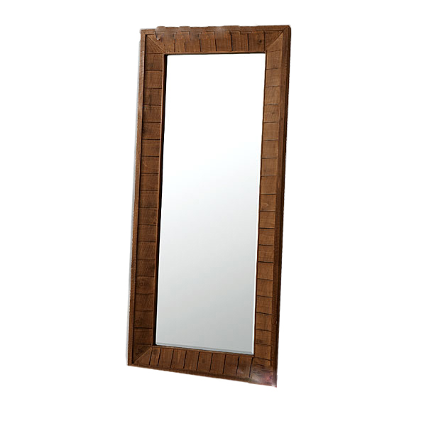 鏡 ミラー アンティークミラーL(代引き不可)【送料無料】