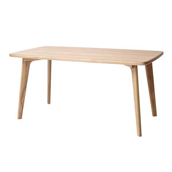 ダイニングテーブル W150 天然木北欧スタイルダイニング【CREGG】クレッグ テーブルW150 木製 (代引不可)【送料無料】【inte_D1806】