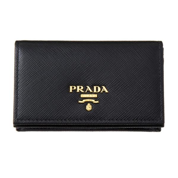PRADA プラダ 1MC122 QWA F0002 カードケース NERO【送料無料】