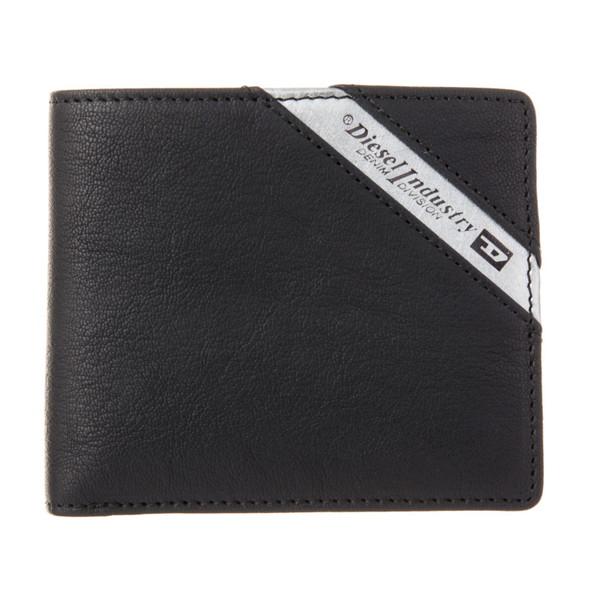 ディーゼル DIESEL【X03611P1221H6168】Black/Dark Acciaio 二つ折り財布【送料無料】
