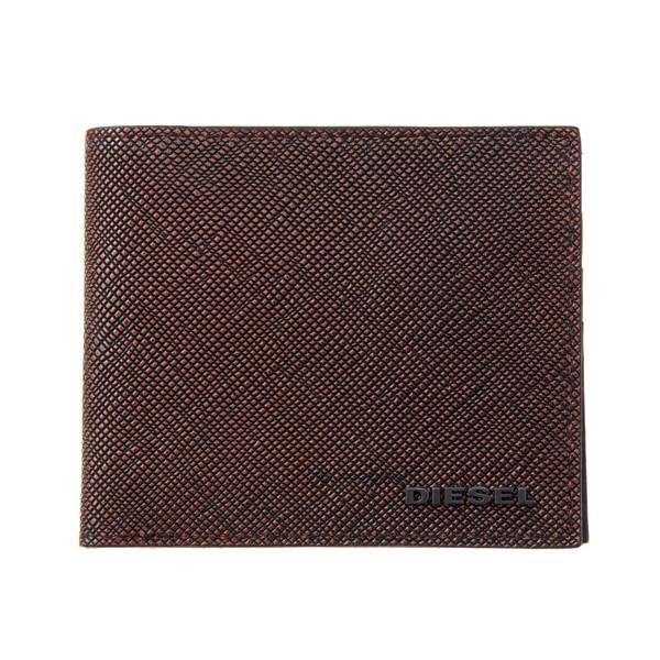 ディーゼル DIESEL【X04743P0517H5971】Brown/Black 二つ折り財布【送料無料】