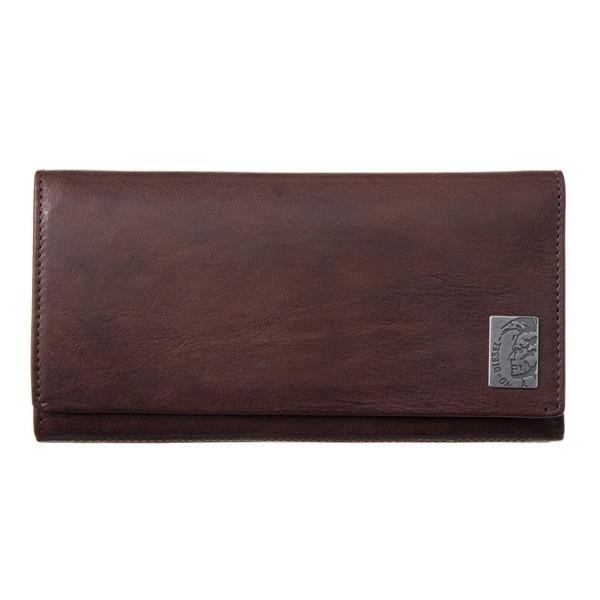 ディーゼル DIESEL【X04984PR013T2189】Seal Brown 長財布【送料無料】
